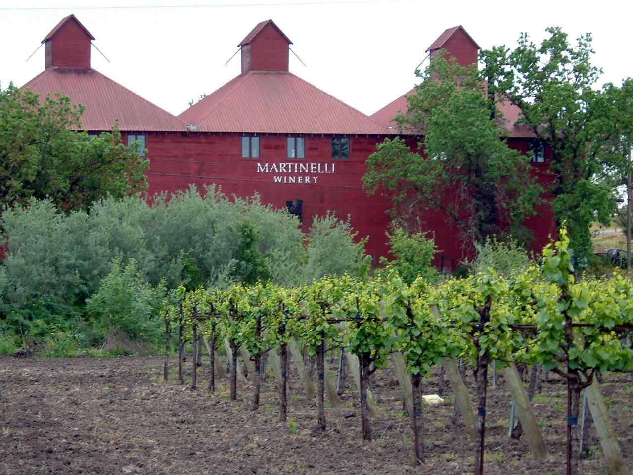Historic Hop Kiln at Martinelli Winery